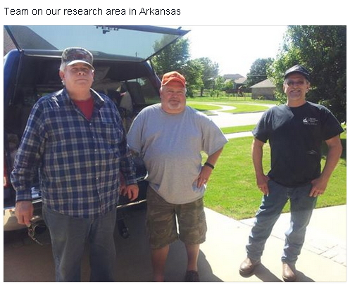 Finding bigfoot Arkansas 2015