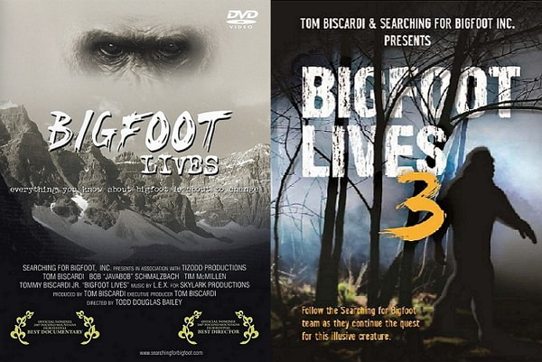 Bigfoot Movies and Bigfoot Products
