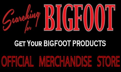 Bigfoot T-shirts Bigfoot hats