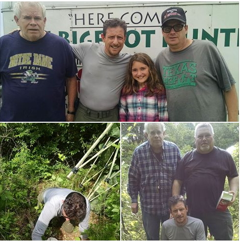 finding bigfoot May 2015