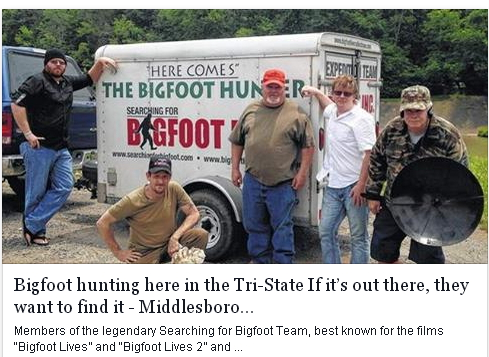 Kentucky Bigfoot Encounters